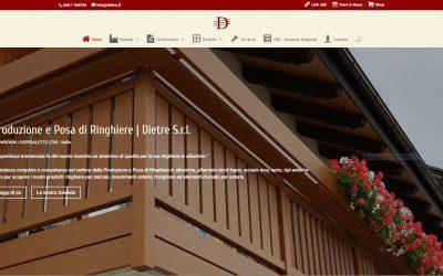 Online con il nuovo sito
