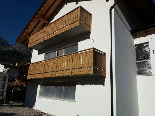 Trentino | Parapetti per poggioli classici con decori