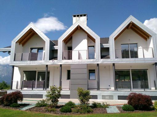 Belluno | Balconi in alluminio e acciaio inox