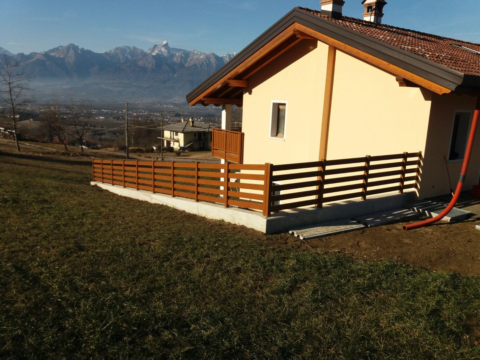 Trentino parapetti per balconi e recinzioni esterne - Rivestimenti balconi esterni ...