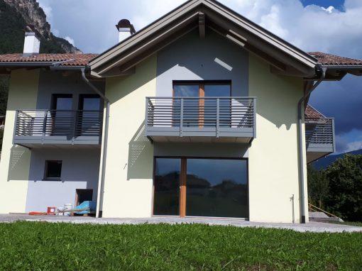 Trentino | Parapetti moderni personalizzati in alluminio e acciaio inox