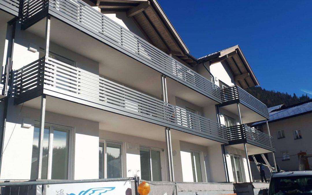 Alto Adige | Parapetti in alluminio moderni