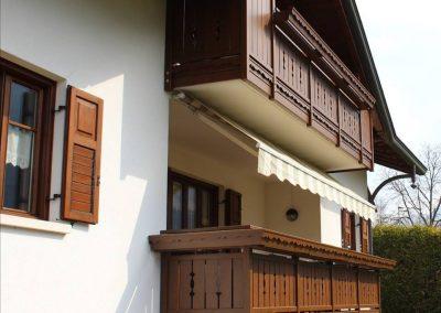 Trentino | Parapetti rustici in alluminio effetto legno