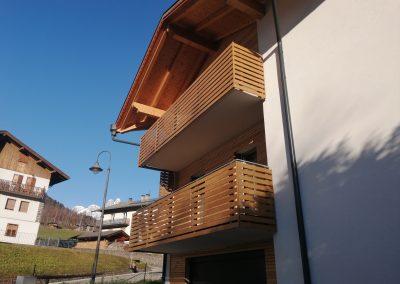 Trentino | Parapetti moderni con elementi decorativi
