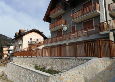 Veneto | Ringhiere in alluminio sull'Altopiano di Asiago