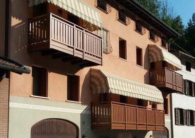 Vicenza | Ringhiere per poggioli in alluminio