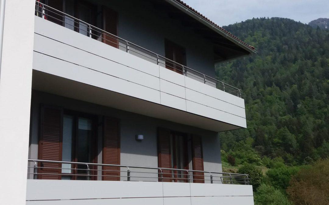 Trentino | Parapetti di tendenza in HPL exterior