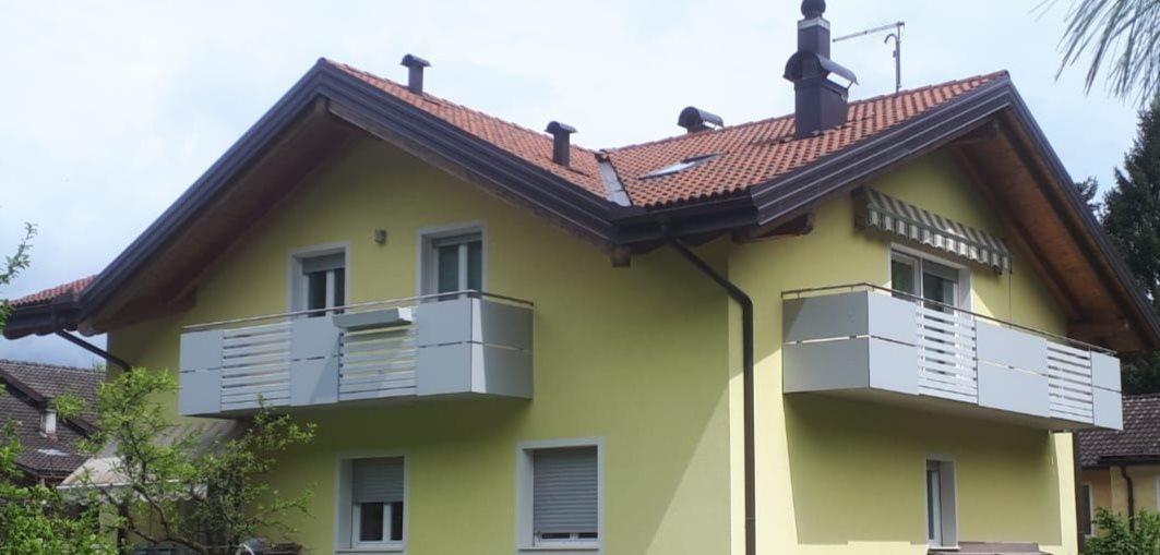 Trentino | Parapetti ricercati per un tocco di modernità all'estetica della casa